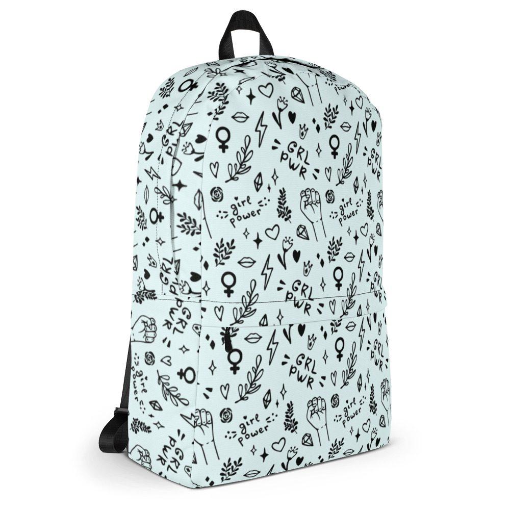 GRL PWR Doodle Backpack