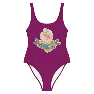 Girls Power One-Piece Swimsuit