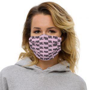 GRL PWR Feminist Premium Face Mask