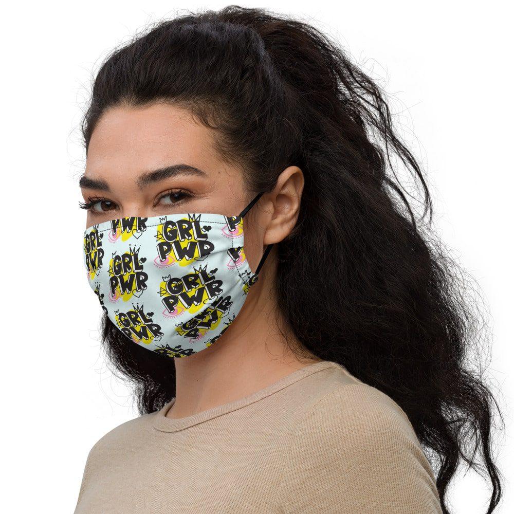 GRL PWR Premium Face Mask
