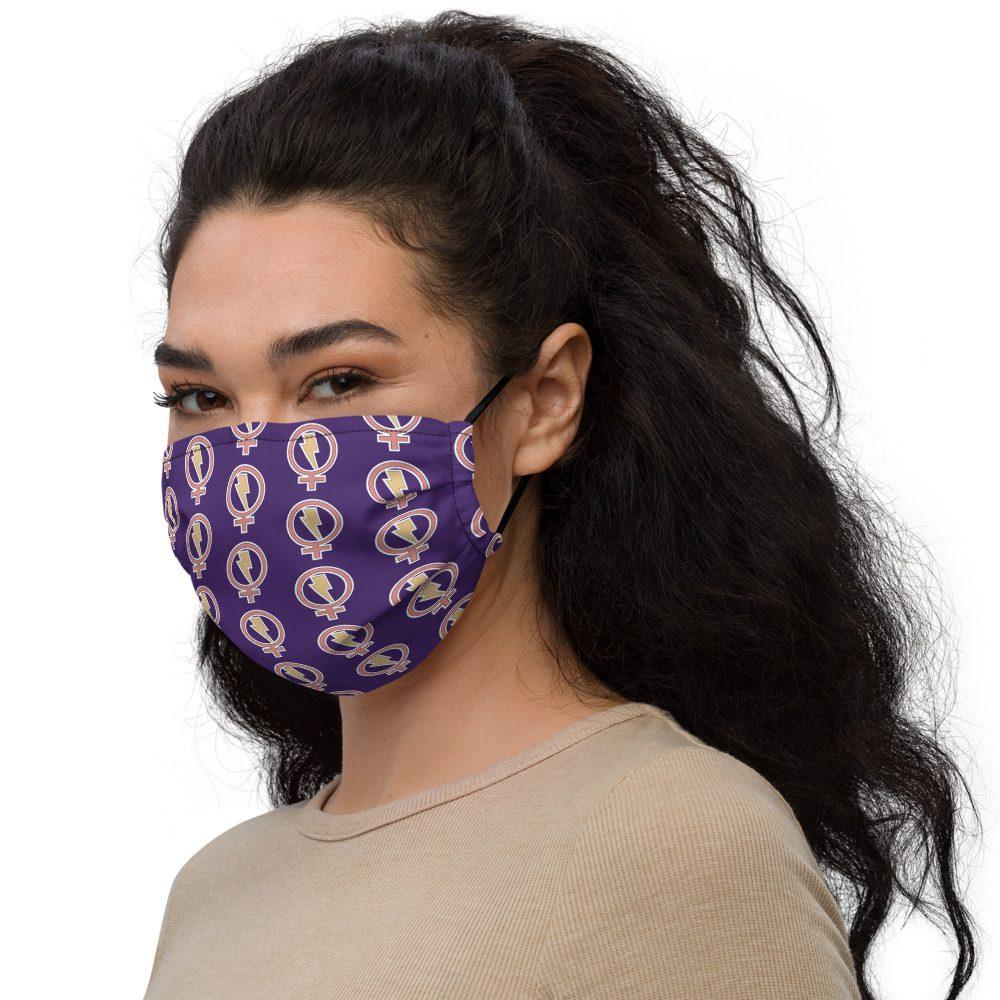 Flash Feminist Premium Face Mask