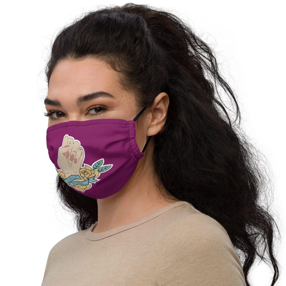 Girls Power Premium Face Mask