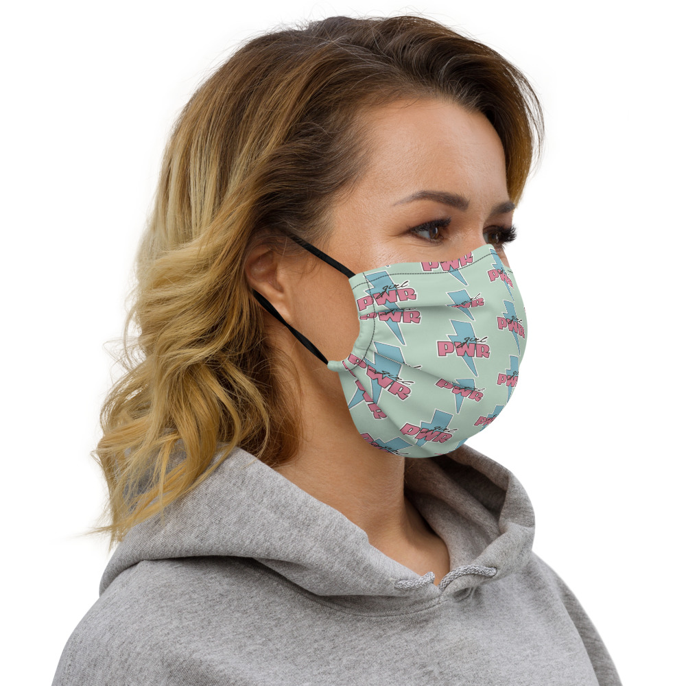 Girl PWR Premium Face Mask