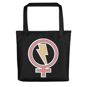 Flash Feminist Tote Bag