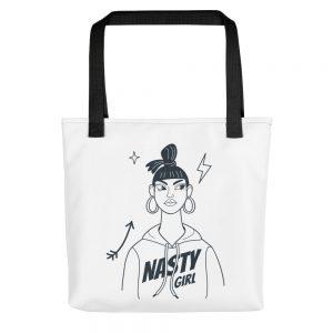 Nasty Girl Tote bag