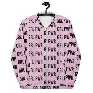 GRL PWR Feminist Bomber Jacket