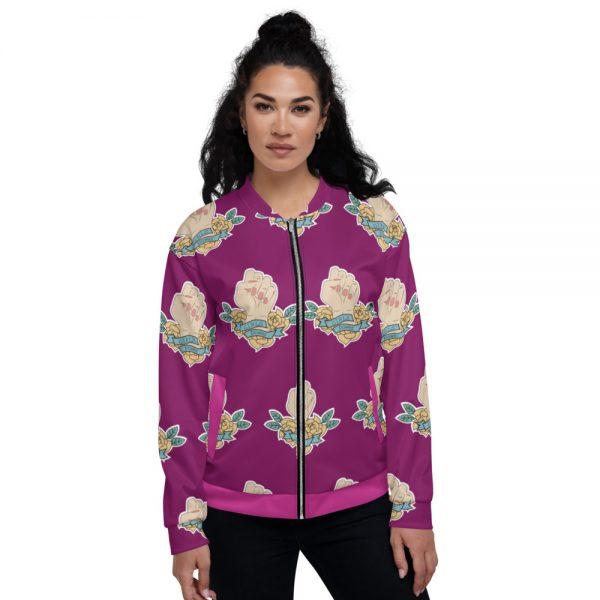 Girls Power Bomber Jacket