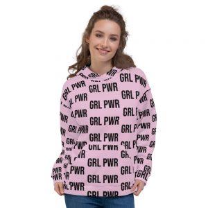 GRL PWR Feminist Hoodie