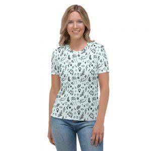 GRL PWR Doodle T-shirt