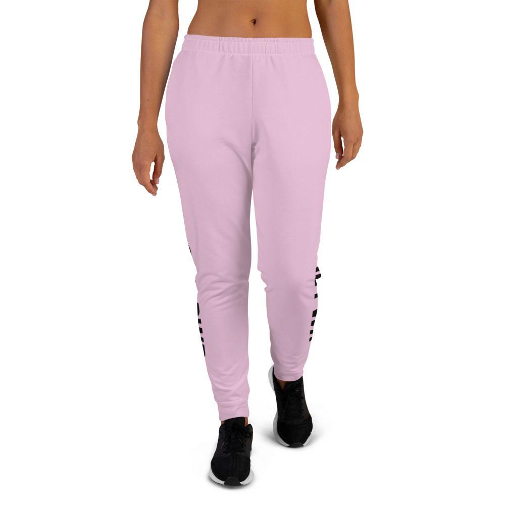 GRL PWR Feminist Pink Joggers