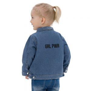 GRL PWR Feminist Baby Organic Jacket