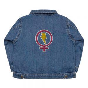 Flash Feminist Baby Organic Jacket