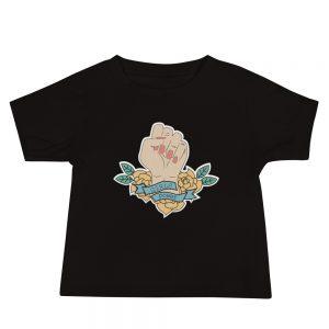 Girls Power Baby Jersey Short Sleeve Tee