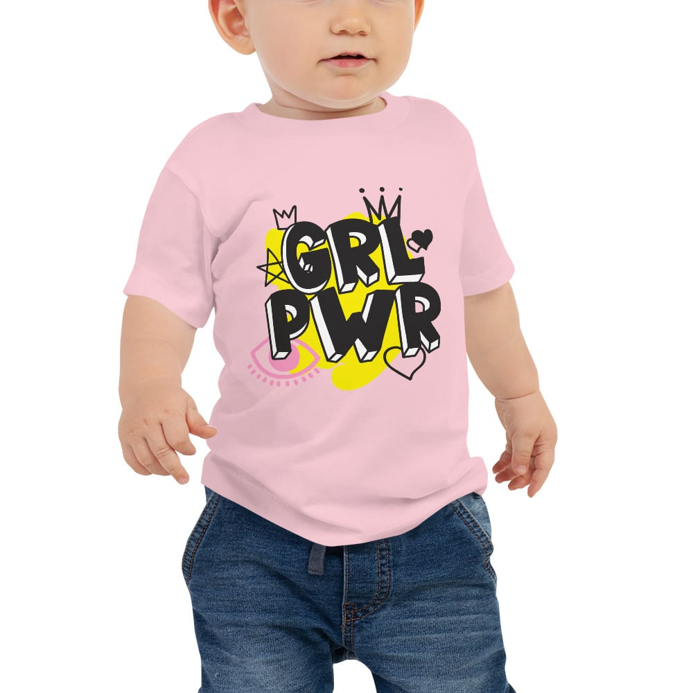 GRL PWR Baby Jersey Short Sleeve Tee