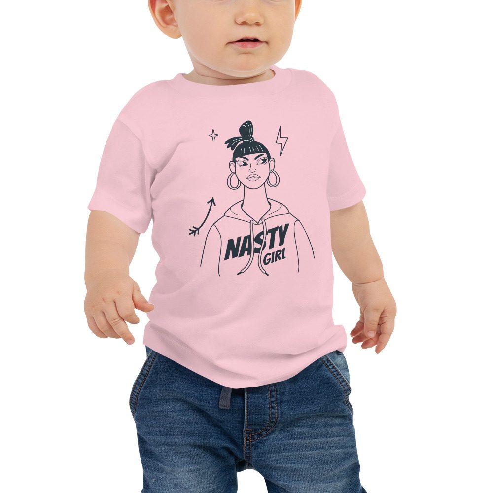 Nasty Girl Baby Jersey Short Sleeve Tee