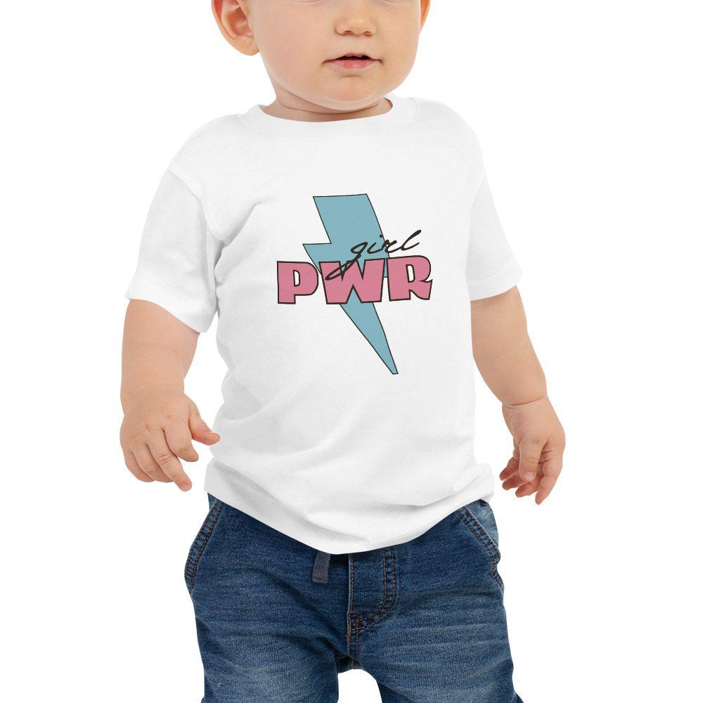 Girl PWR Baby Jersey Short Sleeve Tee