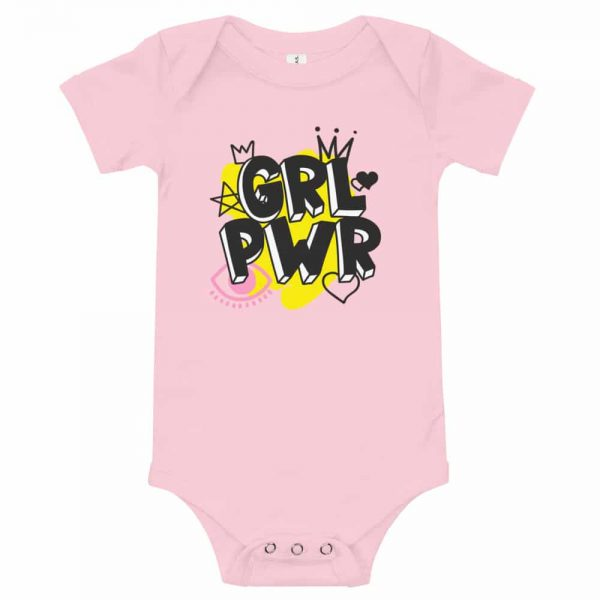 GRL PWR Baby Short Sleeve One Piece