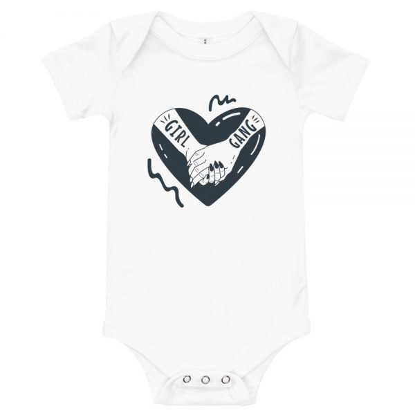 Girl Gang Baby Short Sleeve One Piece