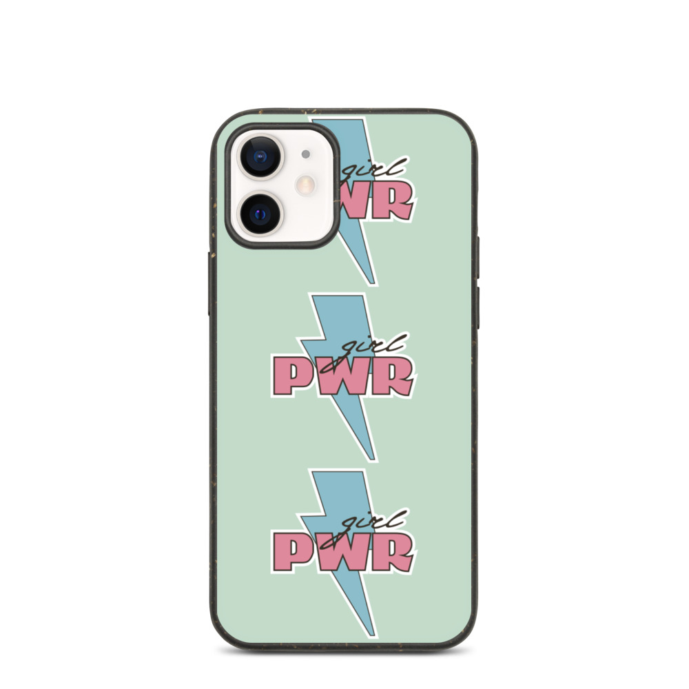 Girl PWR Biodegradable iPhone case