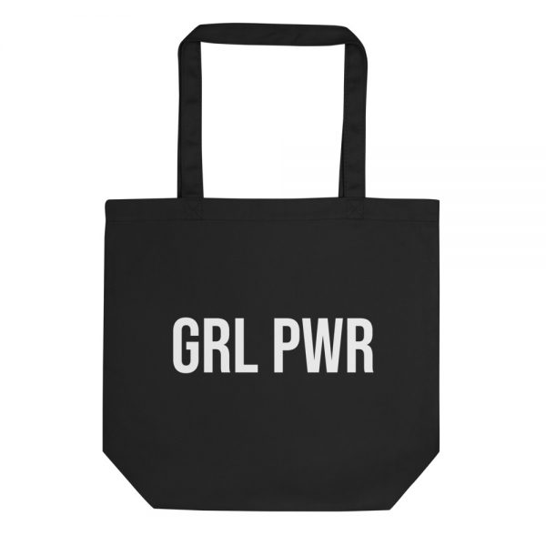 GRL PWR Feminist Eco Tote Bag