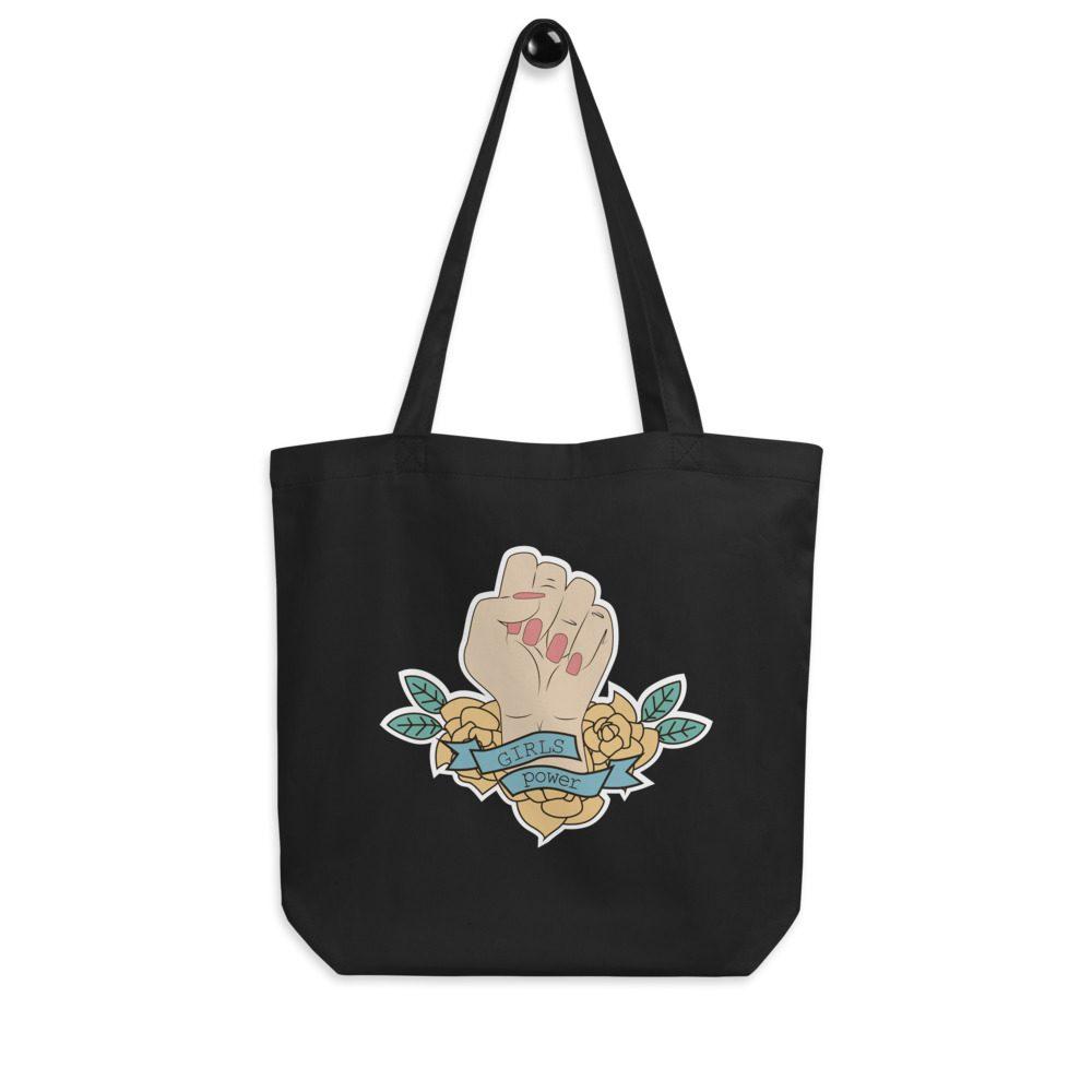 Girls Power Eco Tote Bag