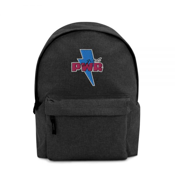 Girl PWR Embroidered Backpack