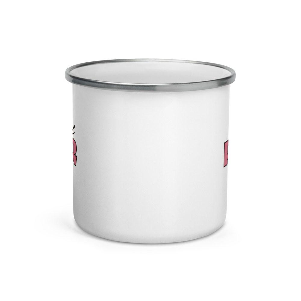 Girl PWR Enamel Mug