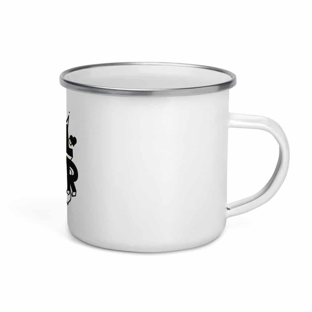 GRL PWR Enamel Mug