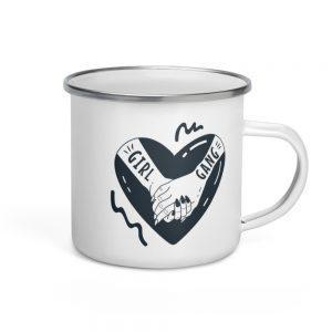 Girl Gang Enamel Mug