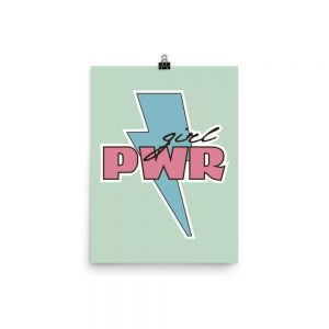 Girl PWR Poster