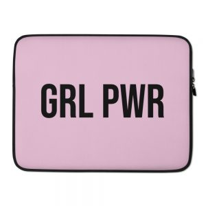 GRL PWR Feminist Laptop Sleeve