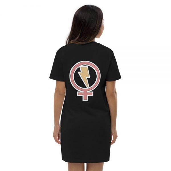 Flash Feminist Organic Cotton T-shirt Dress