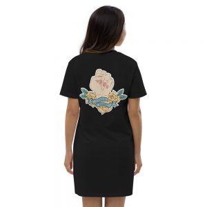 Girls Power Organic Cotton T-shirt Dress