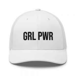 GRL PWR Feminist Trucker Cap
