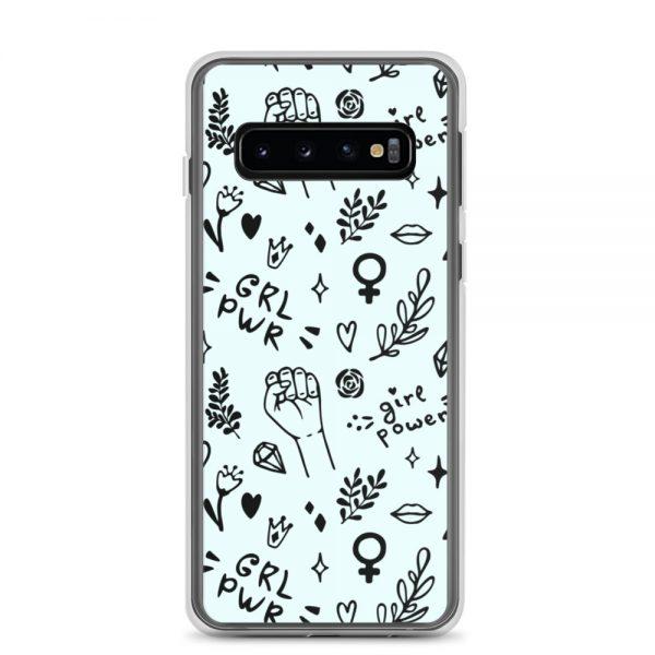 GRL PWR Doodle Samsung Case