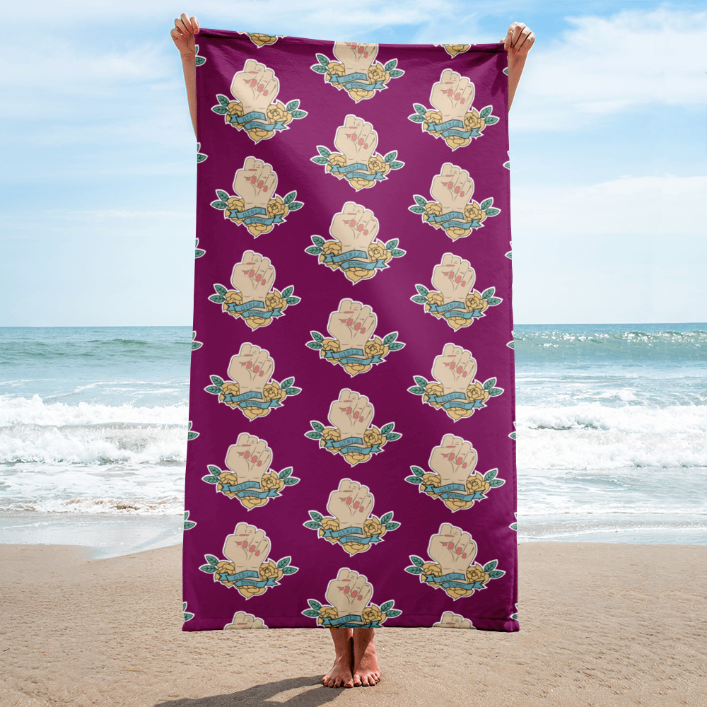 Girls Power Towel