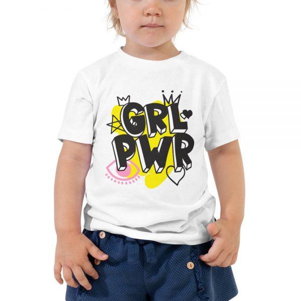 GRL PWR Toddler Short Sleeve Tee