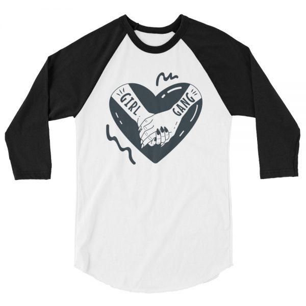 Girl Gang 3/4 Sleeve Raglan Shirt