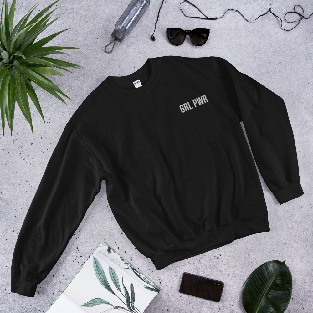 GRL PWR Sweatshirt (Embroidered)