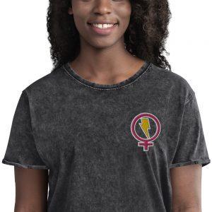 Flash Feminist Denim T-Shirt