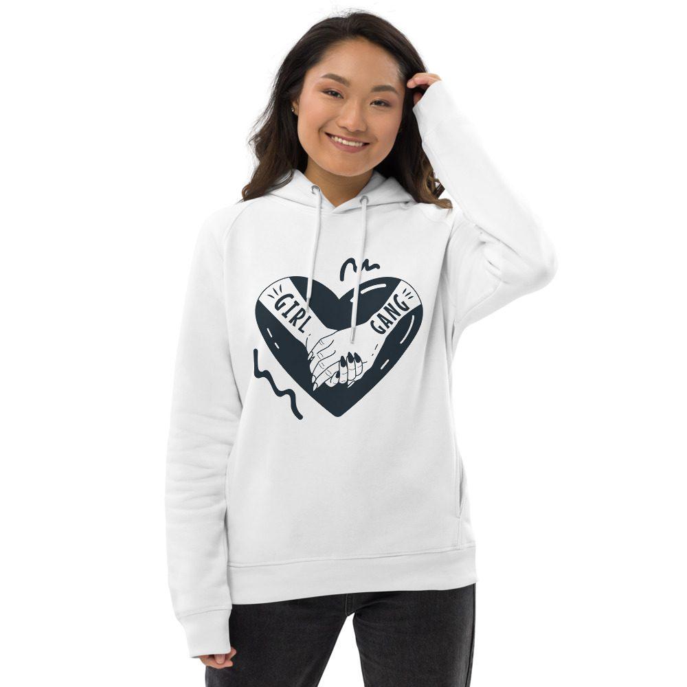Girl Gang Organic Pullover Hoodie