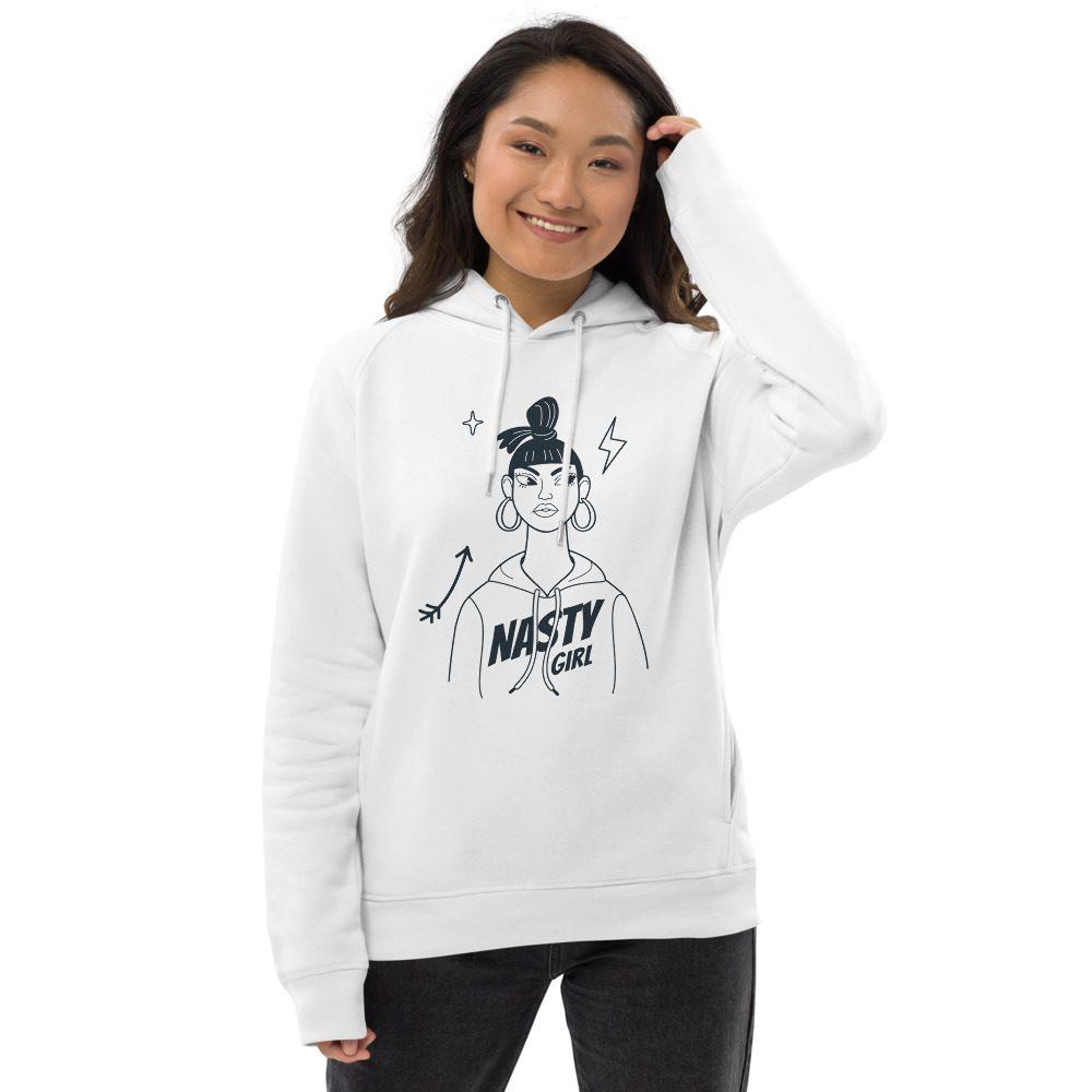 Nasty Girl Organic Pullover Hoodie