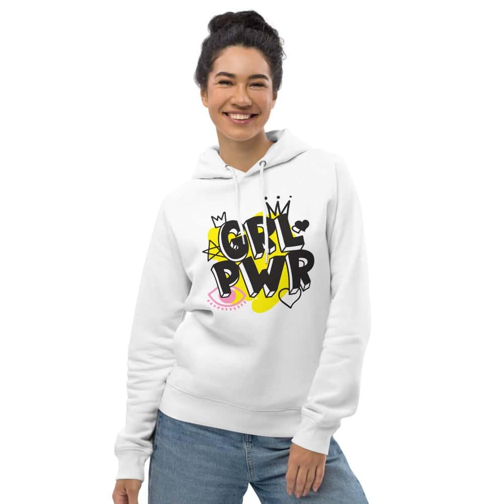 GRL PWR Organic Pullover Hoodie