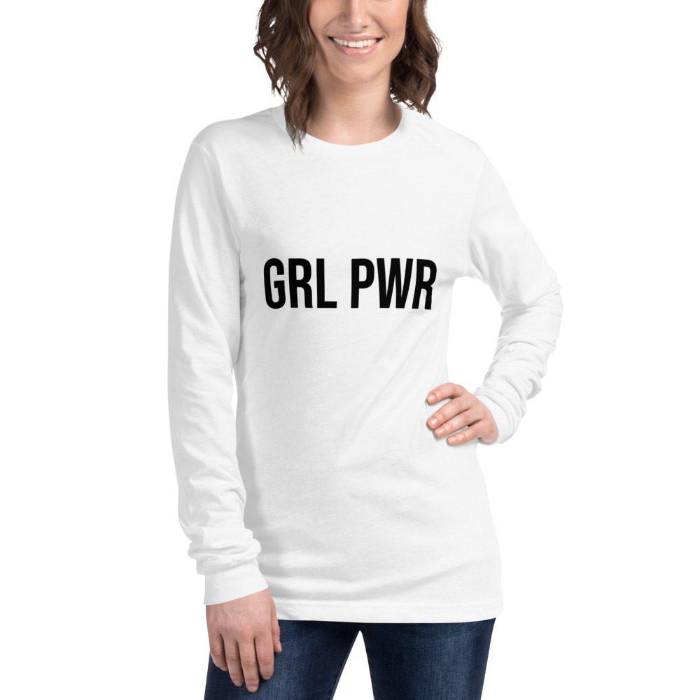 GRL PWR Feminist Long Sleeve Tee