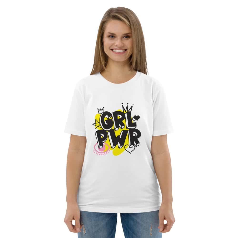 GRL PWR Unisex Organic Cotton T-shirt