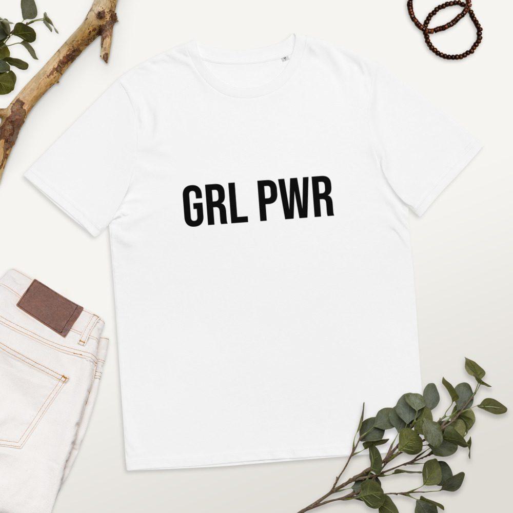 GRL PWR Feminist Organic Cotton T-shirt