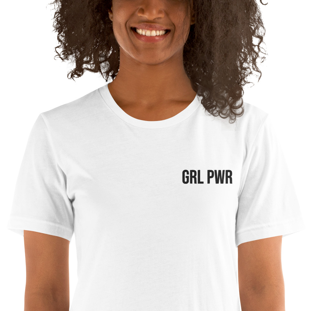 GRL PWR Short-Sleeve T-Shirt (Embroidered)