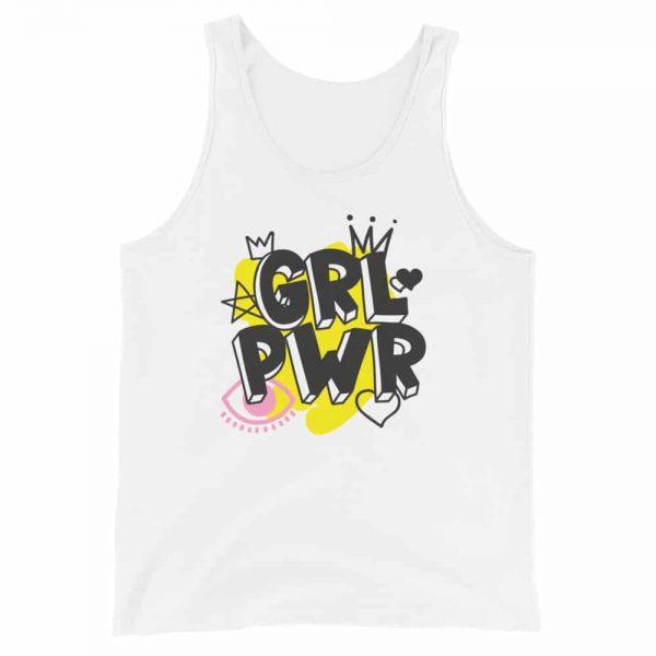 GRL PWR Unisex Tank Top Vest
