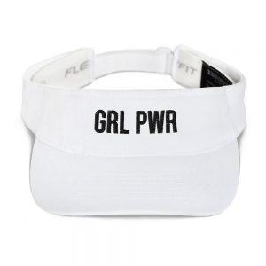 GRL PWR Feminist Visor