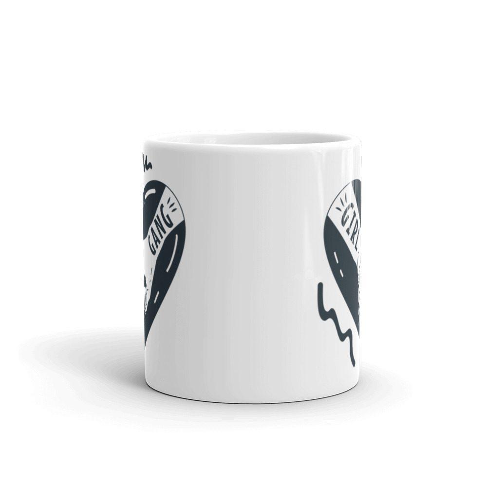 Girl Gang White Glossy Mug